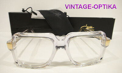 Cazal 607 Eyeglasses Legend (Col65) (Crystal Clear) Authentic New