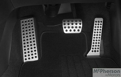Genuine Mazda 3 Alloy Pedal Covers Auto Vehicles Only BM Model 09/2013-07/2015