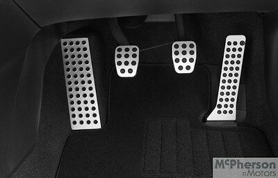 Genuine Mazda 3 Alloy Pedal Covers Manual Vehicles Only BM BN Model 2013-Current