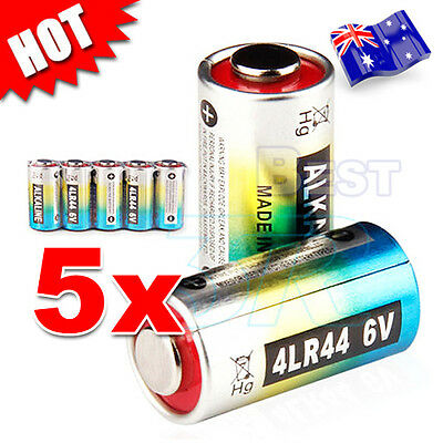 5x 4LR44 6V Battery PX28A 476A L1325 A544 V34PX Citronella Bark Dog Collar AU