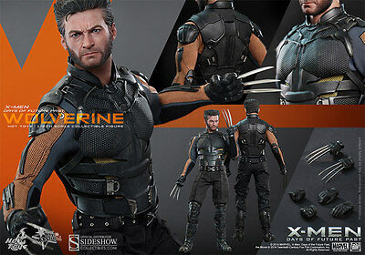 "Hot Toys MMS 264 Wolverine X-Men Days of Future Past Sixth Scale 12"" Figure"