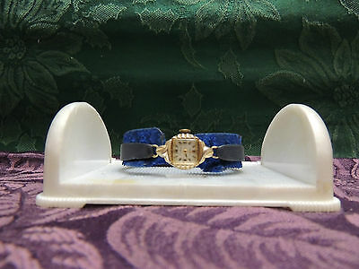 Vintage Ladies Bulova Tradition M8 10K Gold Filled Watch 17 Jewels z020463 WORKS