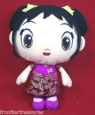 "KAI LAN PLUSH DOLL FIGURE NI HAO KAI LAN FISHER PRICE MATTEL VIACOM 11"" TOY 2009"