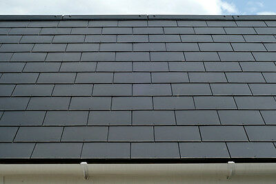 Marley Thrutone Fibre Cement Slates For Roof And Facade - Square Edge - Cembrit