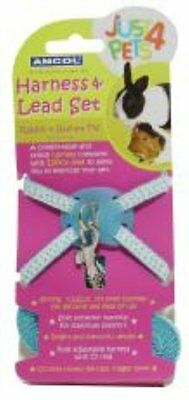Rabbit Harness & lead set Polka 164040