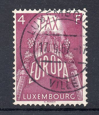 LUXEMBOURG 1957  SG 628 used