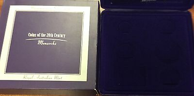 empty  2000 masterpieces in silver - empty box and certificate