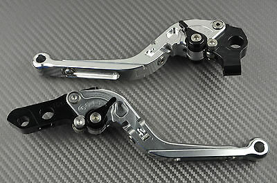 Levier levers flip-up foldable repliable Gold Or Suzuki GSXR 600 K1 K2 K3 2001