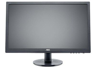 AOC Value e2460Sh 24 inch LED 1ms Monitor - Full HD 1080p, 1ms, HDMI, DVI