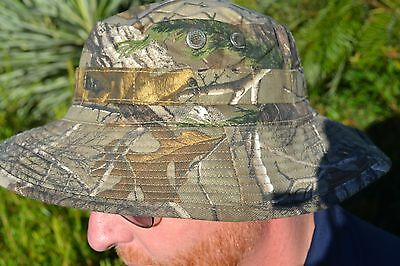 LEAF CAM CAMOUFLAGE PATTERN GIGGLE / BUSH HAT  -   Size S to XL