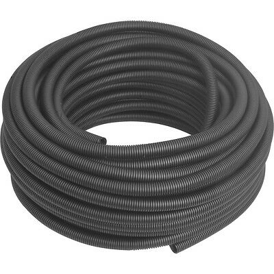 NEW Polypropylene Flex - Conduit 25mm x 50m Coil Black Each