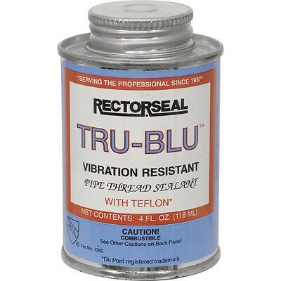 NEW Tru Blu Pipe Thread Sealant 118ml Each