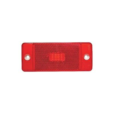 Rear Side Marker Light - Right Or Left - Red - With Ford Script