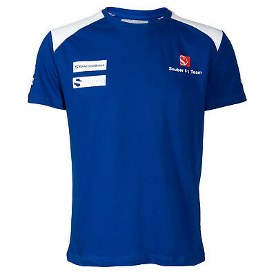 Sauber F1 Team Official Sponsor t-shirt - 2015 - Clearance - Size Small