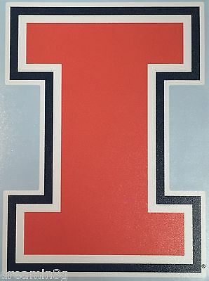University of Illinois Logo Vinyl Sticker #456