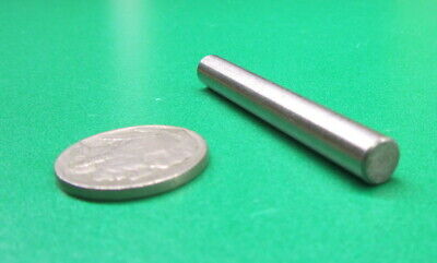 "416 Stainless Steel Dowel Pins 1/4"" Dia x 2.00"" Length, 5 Pieces"