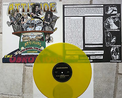 "Attitude ‎– The Good, The Bad... The Obnoxious 12""  Vinyl  gelbes / yellow wax"