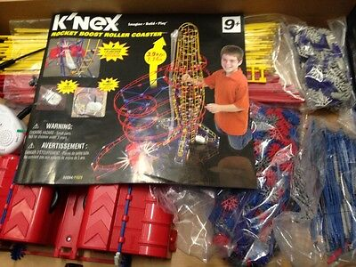 K'NEX Rocket Boost Roller Coaster 50054/71525