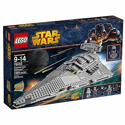 NEW & SEALED! LEGO Star Wars 75055 Imperial Star Destroyer Building Toy