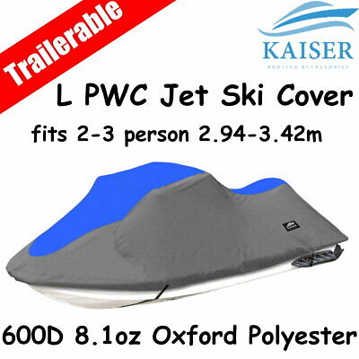 2-3 person 2.94m-3.42m PWC Jet Ski Cover suits Yamaha Kawasaki Seadoo Honda
