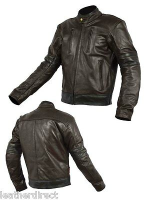 X-men Grade A Leather Fashion Motorbike Jacket Motorcycle CE Protection All size