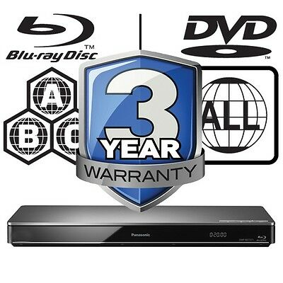 Panasonic 3D Blu-ray Player Full MultiRegion DMP-BDT460EB Black Edition 4K