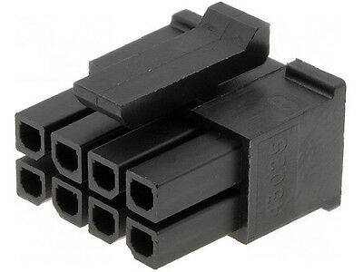 Molex 43025-0800 Micro-Fit 3.0 Female Housing Receptacle 8 Position Dual Row