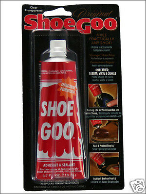 Shoe Goo - Repair Worn Skateboard Shoes & Boots - Rubber Glue Adhesive