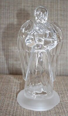 Crystal Angel Figurine by J.G. Durand - Cristal d'Arques 24% Lead Crystal