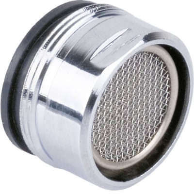 Tap Aerator 28mm Male Anti Splash Water Saver Chrome Plated Spout Filter Washer