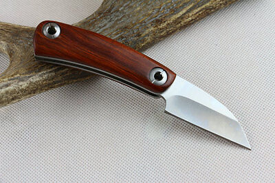 rosewood handle karambit stainless blade tactical collection knife survival _
