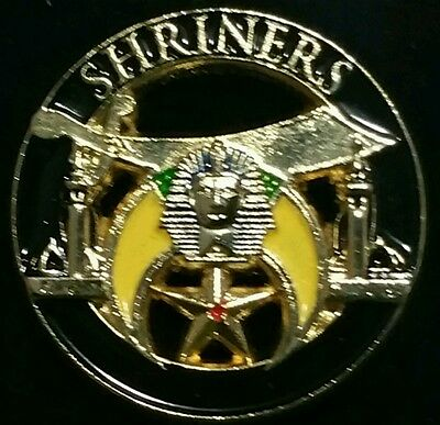 Shriners Black Lapel Pin