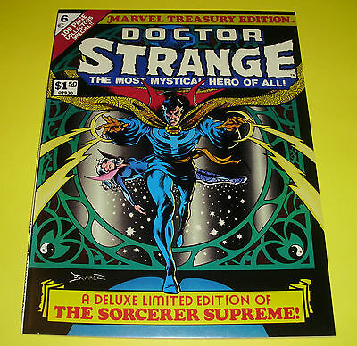 Marvel Treasury Edition #6 - Nm+ (9.6) - Doctor Strange ** Rare In High Grade**