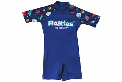 Boys Rocket/Space Swimsuit/Bathers/Cozzie for Kids 2-3yrs UPF50+ for Beach/Pool