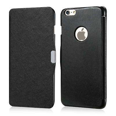 Ultra Slim Thin Magnetic Leather Case Flip Shockproof Hard Cover Skin For iPhone