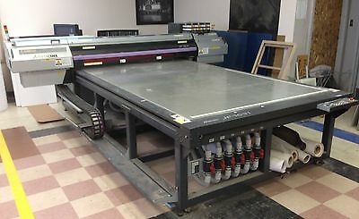 Mimaki JF 1631 UV Flatbed Eight-Color - Used Printer For Sale