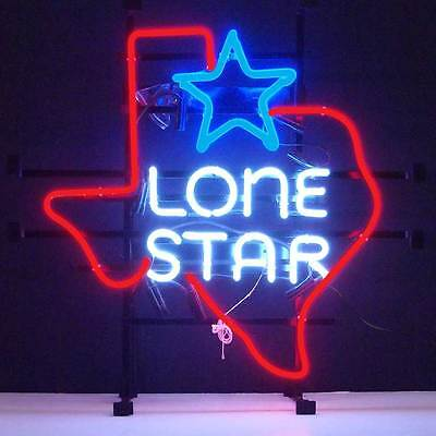 neon sign Don't mess with Texas Lone Star Bar Game room light beer lamp