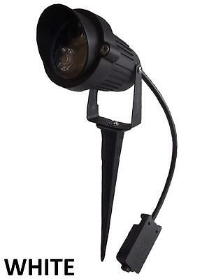 12v LED outdoor garden spot light with spike  low voltage 3W IP65  12 volt white