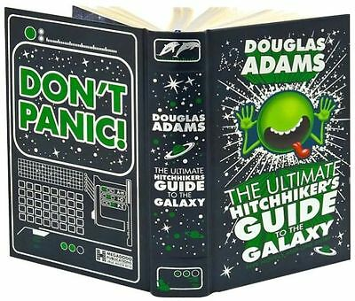 The Ultimate Hitchhiker's Guide to the Galaxy by Douglas Adams Leather Bound HC