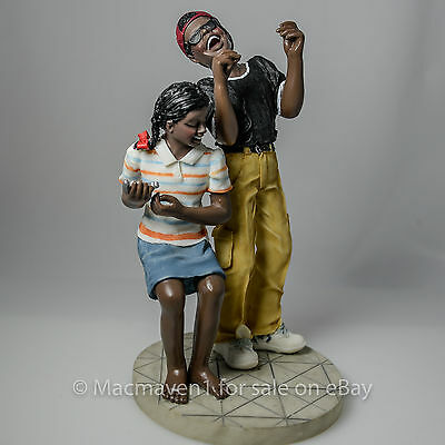 DANCING in the STREETS African American Figurine by Tom McKinney-McKinney's Ave.