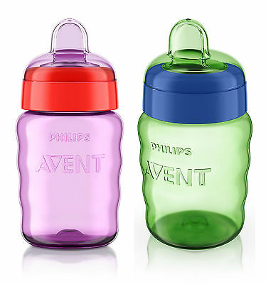 Philips Avent No Spill  Easy Sip Spout Cup 260Ml/90Z 12M+ Boys/girls  Bpa Free