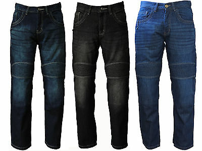 Motorcycle Jeans Motorbike Trousers AV Denim with Protective Lining