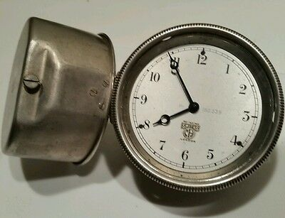 Vintage Antique Automobile Car Clock - Smiths London works tested for 2 days.