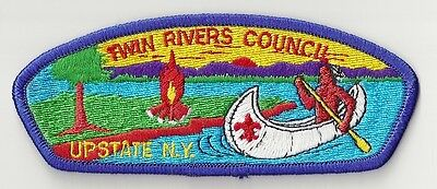 TWIN RIVERS COUNCIL - UPSTATE N.Y. - #S-1 - Unsewn Patch