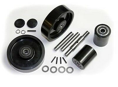Wesco 272748 Pallet Jack Complete Wheel Kit