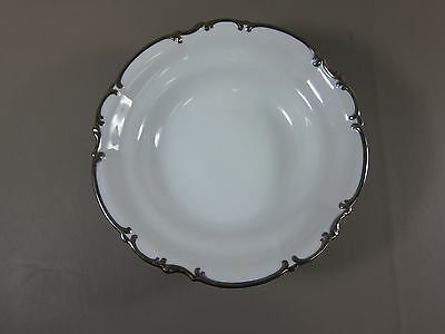 "Hutschenreuther REVERE WHITE-SYLVIA 10"" Round Vegetable Bowl EXCELLENT"