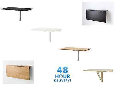 Ikea Wall-mounted drop-leaf table Kitchen Desk Folding Table 4 Colours