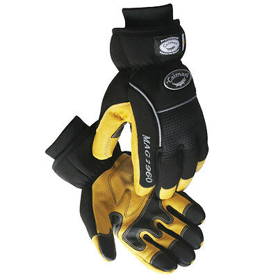 Caiman MAG 2960 Multi-Activity Insulated Gloves, Waterproof, Pigskin, X-Large