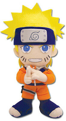 "Official Naruto with Blue Headband 9"" Stuffed Plush Doll (GE-7035)"