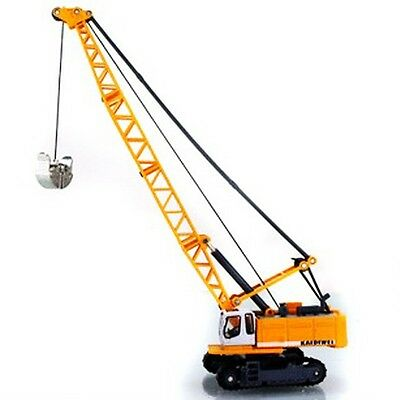 Kaidiwei Construction Equipment Tower Crane Car 1:87 Diecast Vehicles Model Toy